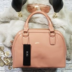 Beautiful BCBG Satchel! Muave colored!